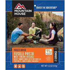 Mountain House Fusilli Pasta with Italian Sausage (Serves 2) Image