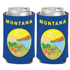 Wincraft Montana Flag 12oz Can Cooler Image