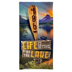 Wincraft Montana 406 Life Is Better Spectra Beach Towel Image