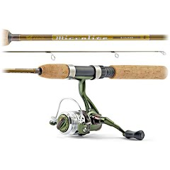 South Bend Microlite S Class 5' 1-Piece Ultralight Spinning Combo Image