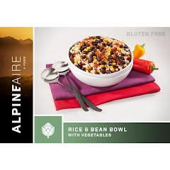 Alpine Aire Foods Rice and Beans Bowl with Vegetables