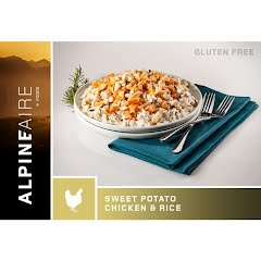 Alpine Aire Foods Sweet Potato Chicken and Rice Image