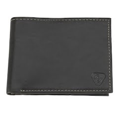 Lewis N. Clark RFID-Blocking Leather Bi-Fold Wallet