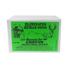 Moccasin Joes Ambush Hunting Soap Image