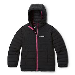 Columbia Youth Girls Powder Lite Hooded Jacket Image