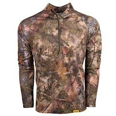 King's Camo Men's XKG Elevation 1/4 Zip (Extended Sizes) Image