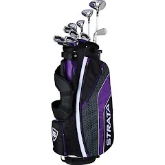 Callaway Women's Strata Ultimate 18 Piece Golf Set Image