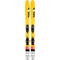 K2 Youth Mindbender Junior FDT Ski and Binding System Image