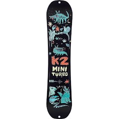 K2 Youth Mini Turbo Snowboard Image
