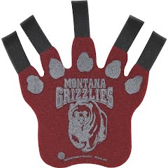 Wincraft University of Montana Grizzlies 2-Sided Foam Claw Image