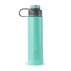 Eco Vessel Boulder TriMax Insulated Water Bottle with Strainer (24 oz)