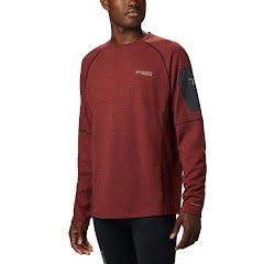 Columbia Men's Mount Defiance Long Sleeve Crew Neck Shirt (Extended Sizes) Image