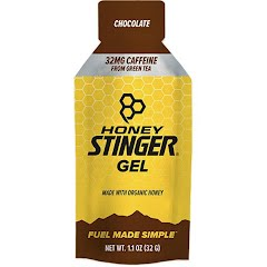 Honey Stinger Chocolate Caffeinated Organic Energy Gel Image