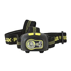 Lux Pro Flashlights LP 346 Ultra Bright Multi-Functional Mult-Color LED Headlamp Image