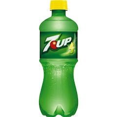 Pepsi 7UP 20oz Bottle Image