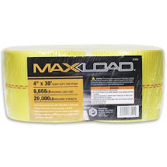 Focus-on Tools MaxLoad 4''x30' Heavy Duty Tow Strap Image