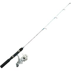 Eagle Claw 28'' Cold Smoke Spinning Ice Combo Image