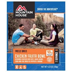 Mountain House Chicken Fajita Bowl Image