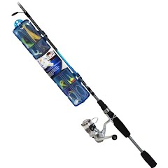 Zebco Ready-to-Fish 5', 2-Piece Trout Spinning Combo Image