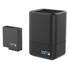 Gopro Dual Battery Charger + Battery Image