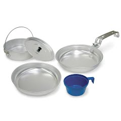 Stansport Aluminum Mess Kit (1 Person) Image