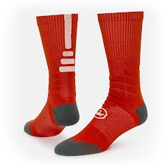 Red Lion Precision Performance Basketball Crew Socks Image