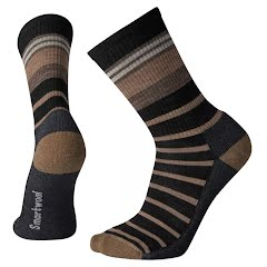 Smartwool Men's Hike Light Stripe Crew Sock Image