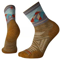 Smartwool Men's PhD Outdoor Light Pattern Mid Crew Sock Image