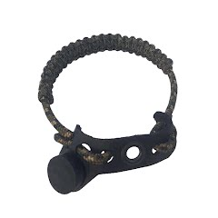 Jakt Gear My Sling-A-Ling Magnetic Paracord Leather Wrist Sling (With Sling Lock) Image
