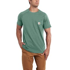 Carhartt Force Cotton Delmont Short-Sleeve T-Shirt (Extended Sizes) Image