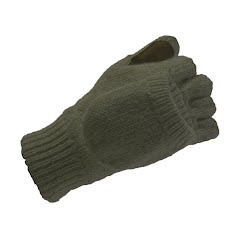 Hot Fingers Men`s Ragg Wool Glomitt Image