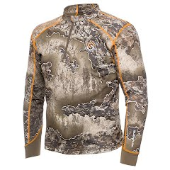 Scent Lok Men's Savanna Aero Attack 1/4 Zip Shirt (Extended Sizes) Image