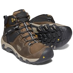 Keen Men's Steens Waterproof Leather Boot Image