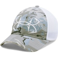 Under Armour Mens UA Fish Hook Camo Adjustable Cap Image