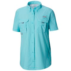 Columbia Women's Bahama PFG Short Sleeve Shirt Image
