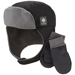 Columbia Youth Earflap Cap and Mitten Set Image