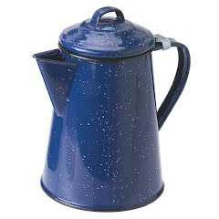 Gsi Outdoors 8 Cup Enamelware Coffee Pot Image