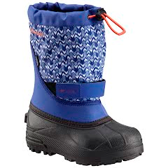 Columbia Youth Powderbug Plus II Print Snow Boot Image