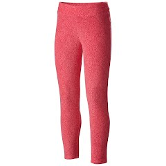 Columbia Girl's Youth Glacial Printed Fleece Legging Image