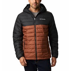 Columbia Men's Powder Lite Hooded Insulated Jacket Image