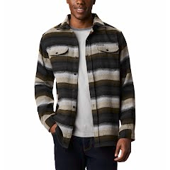 Columbia Men's Deschutes River Heavyweight Flannel Shirt Image