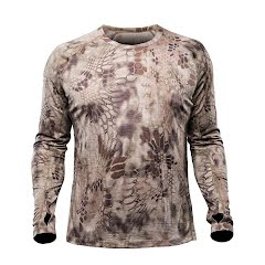 Kryptek Apparel Men's Hoplite 2 Merino Crew Lightweight (Extended Sizes) Image