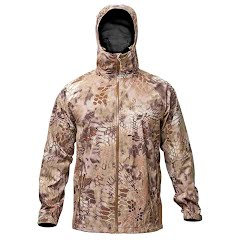 Kryptek Apparel Men's Poseidon II Rain Jacket Extended Sizes Image