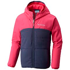 Columbia Girl's Take A Hike Softshell Jacket Image