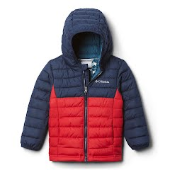 Columbia Toddler Boys Powder Lite Hooded Jacket Image