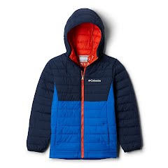 Columbia Youth Boys Powder Lite Hooded Jacket Image
