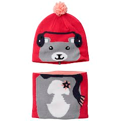Columbia Youth Toddler Snow More Beanie and Gaiter Set Image