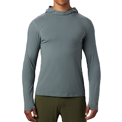 Mountain Hardwear Men's Crater Lake Long Sleeve Hoodie Image