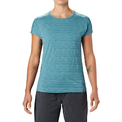 Mountain Hardwear Women's Mighty Stripe Short Sleeve Tee Image