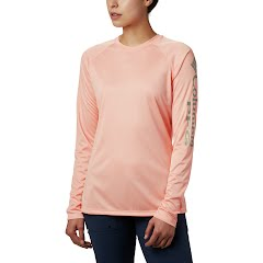 Columbia W PFG Tidal Tee Heather L/S Shirt Image
